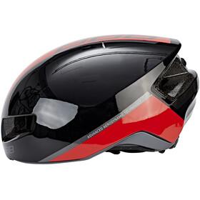 BBB Tithon BHE-08 Helmet glossy schwarz/rot